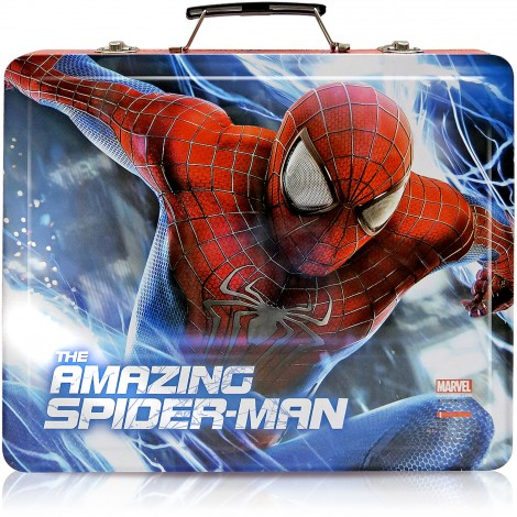 Art Kit SPIDER-MAN Deluxe Tin Storage Case Stationary Set Over 150 Pieces NEW