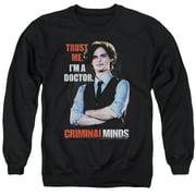 Criminal Minds Trust Me Mens Crewneck Sweatshirt
