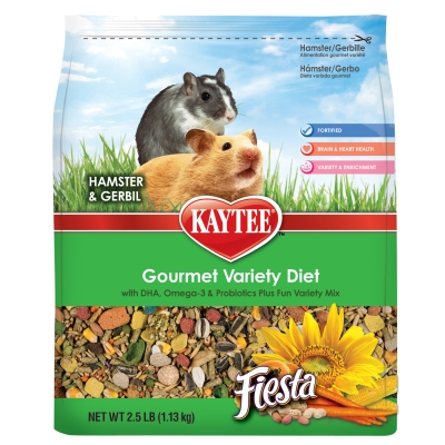CENTRAL - KAYTEE PRODUCTS, INC FIESTA HAMSTER/GERBIL 2.5LB