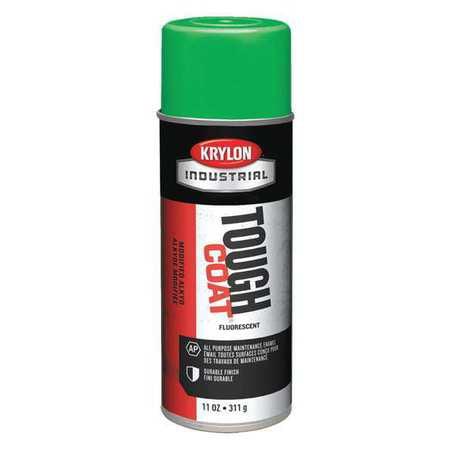 KRYLON A01815 Spray Paint, Fluorescent Electric Green