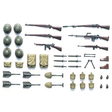 Tamiya America, Inc 1/35 US Infantry Equipment Set, TAM35206
