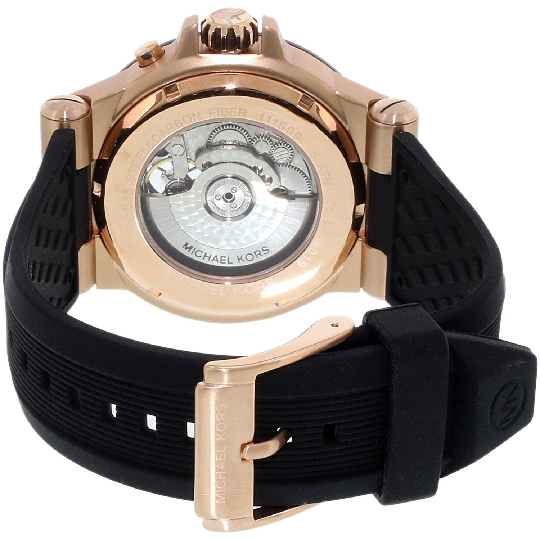 067f7cd4d0cc Michael Kors - Dylan Automatic Chronograph Mens Watch MK9019 - Walmart.com
