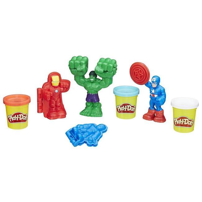 Hasbro HSBE0375 Play-Doh Marvel Hero Tools - Set of 4
