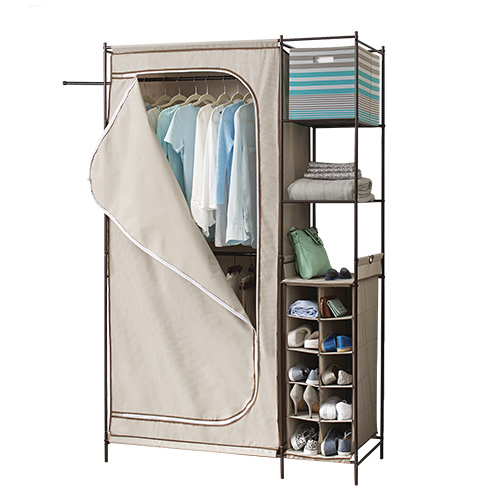 Better Homes U0026 Gardens Closet Organizer With Shoe Organizer