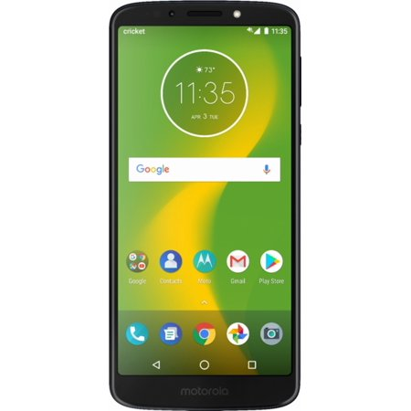 Cricket Wireless Motorola Moto G6 Forge 16GB Prepaid Smartphone, Deep (Best Smartphone For Tethering)