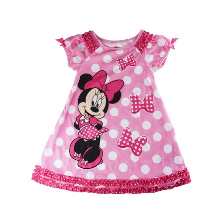 Disney Store Size Chart (Disney Store Girls Minnie Mouse Short Sleeve Nightshirt, Pink, Size)