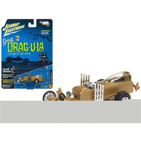 The Barris Dragula Hobby Exclusive 1/64 Diecast Model Car by Johnny Lightning