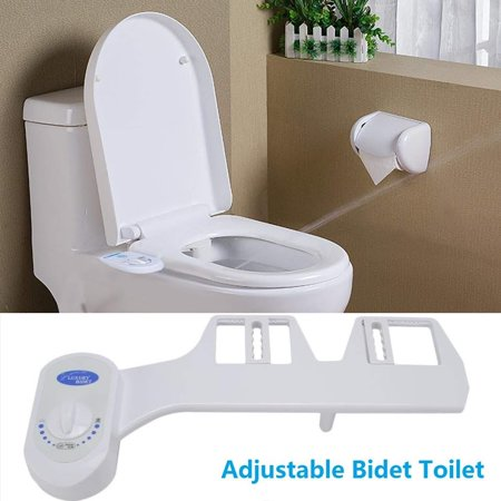 Incredible Bidet Attachment For Toilet Bidet Toilet Seat Attachment Fresh Water Sprayer Cleans Your Rear Better Than You Can Adjustable Nozzle Self Cleaning Squirreltailoven Fun Painted Chair Ideas Images Squirreltailovenorg