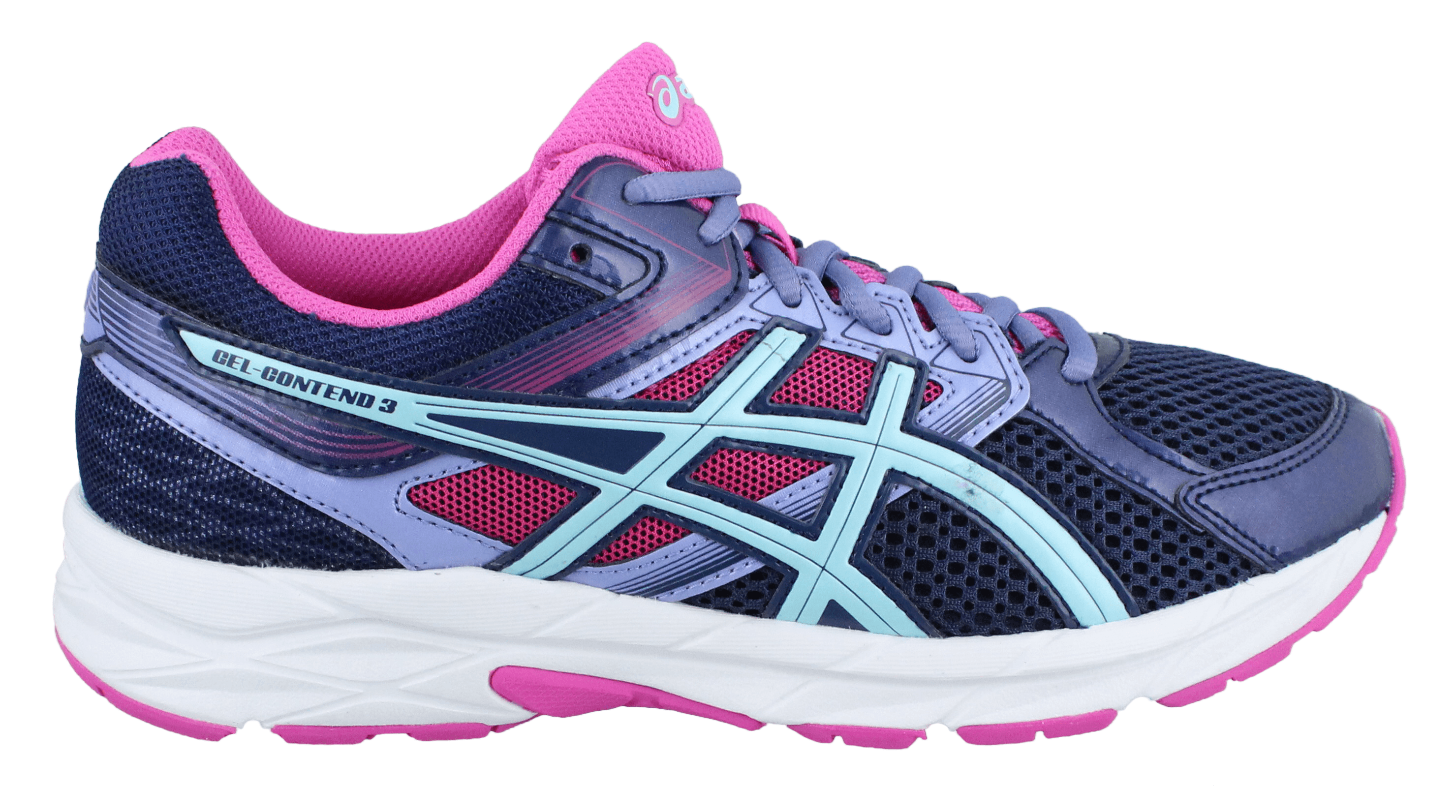 ASICS Asics Gel Contend 3 Women's Shoes Indigo BlueAqua SplashPink Glow