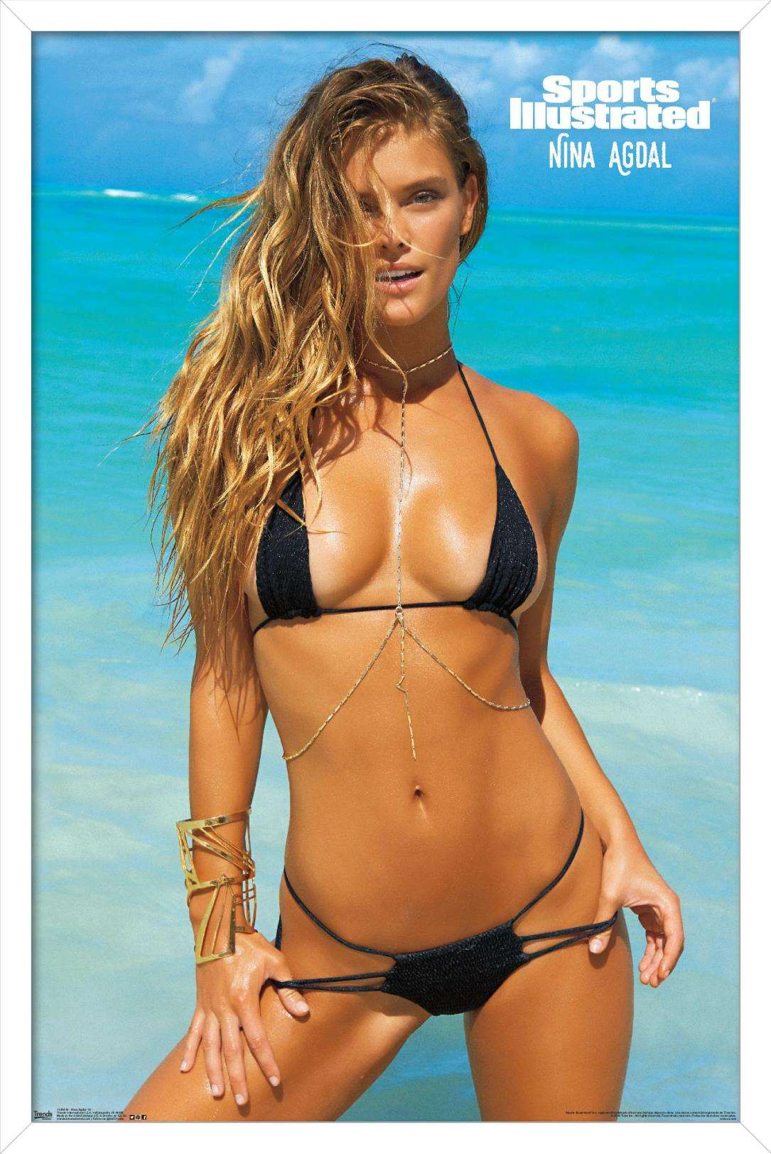 Nina Agdal - Sports Illustrated Swimsuit Calendar 2016