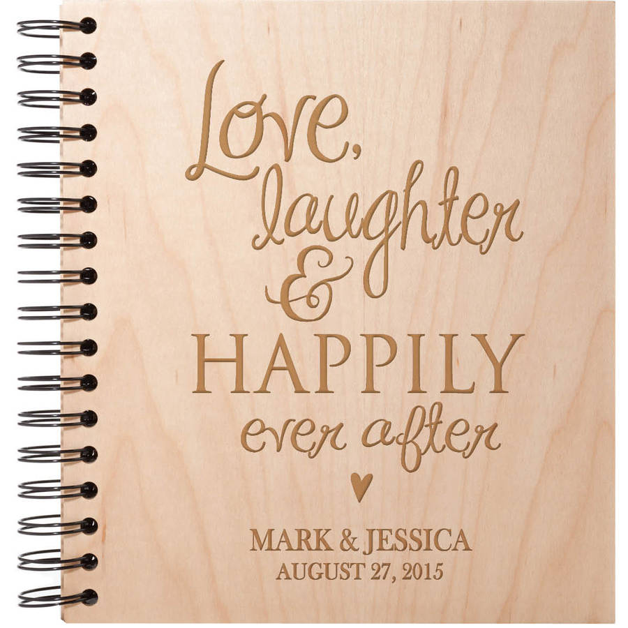 Love, Laughter and Happily Ever After Personalized Album