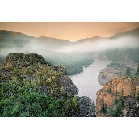 Hay River Willmore Wilderness Park Alberta Canada Stretched Canvas - Darwin Wiggett  Design Pics (16 x
