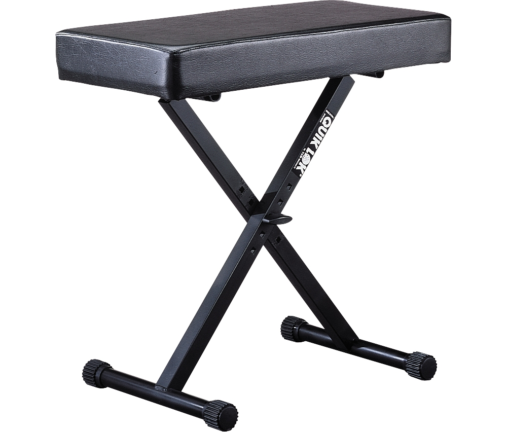 Quik-Lok BX-14 Padded Keyboard Bench by Quik-Lok
