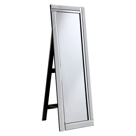 Elegant Furniture   Lighting Modern Floor Mirror   17 5W X 59H In