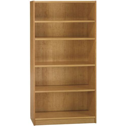 """Bush Universal 5-Shelf 72"""" Bookcase, Multiple Finishes"""