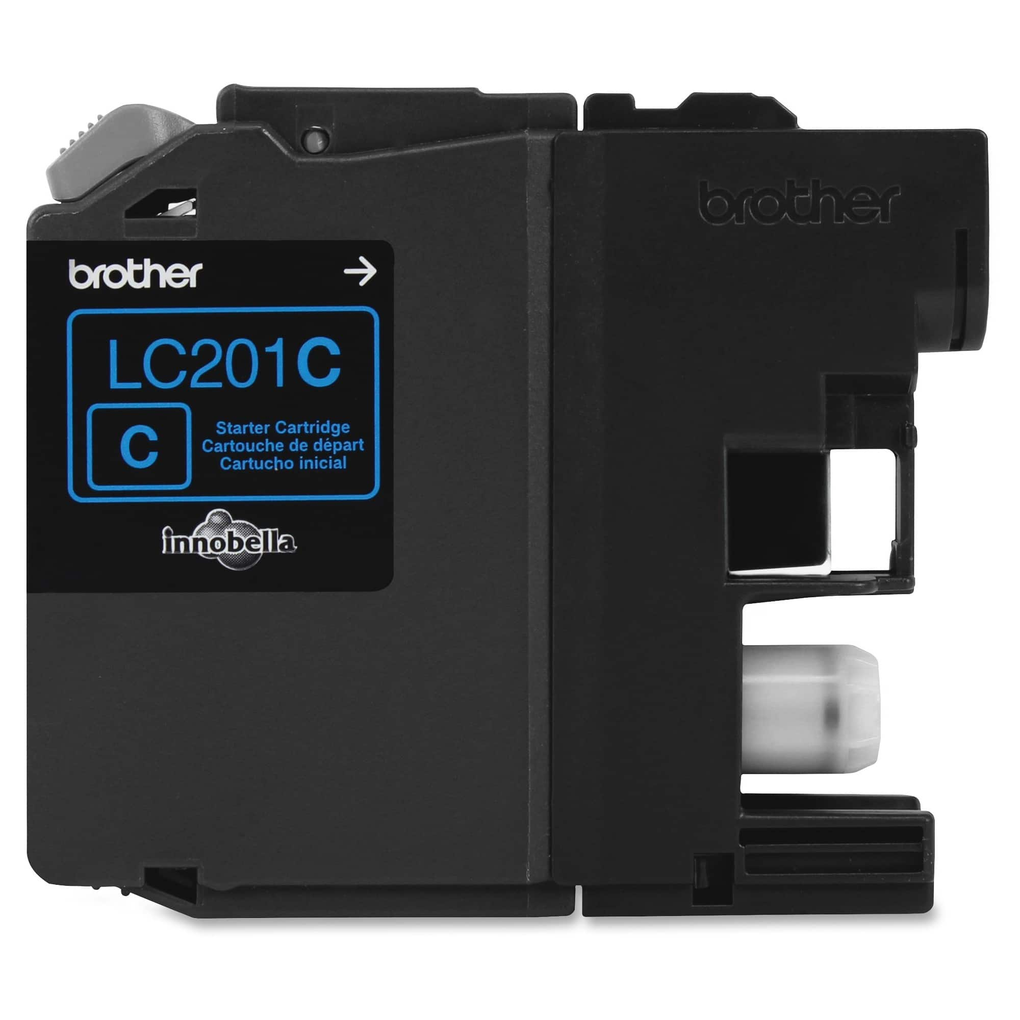 BROTHER INTERNATIONAL CORPORAT Brother Genuine Innobella LC201C Cyan Ink Cartridge