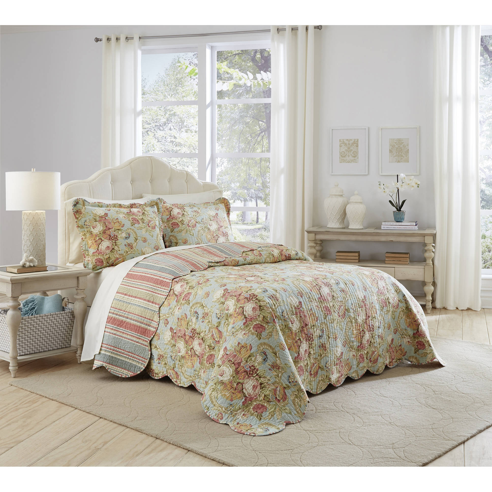 Waverly Spring Bling 3-Piece Bedspread Collection