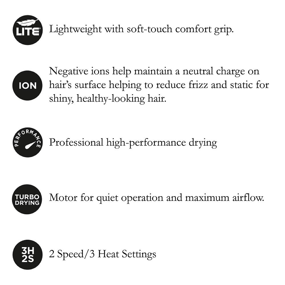 Hot Tools Signature Series 1875W Salon Turbo Ionic Hair