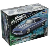 Fast & Furious 69 Chevy Yenko Camaro Model Kit, Construct your own Fast & Furious car with this challenging 107-piece model kit By Revell