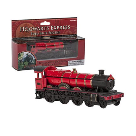 universal studios harry potter hogwarts express pull back engine train new