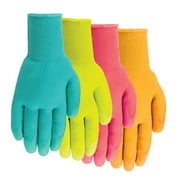 Midwest Glove 62F6-M-JD-12 Medium Ladies Polyurethane-Coated Gloves Assorted Colors