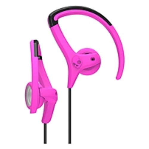 Skullcandy Sports Performance Secure Fit Chops Hanger and Bud  Pink/Black