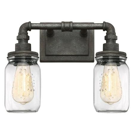 Quoizel Squire SQR8602RK 2 Light Bathroom Vanity Light - Walmart.com