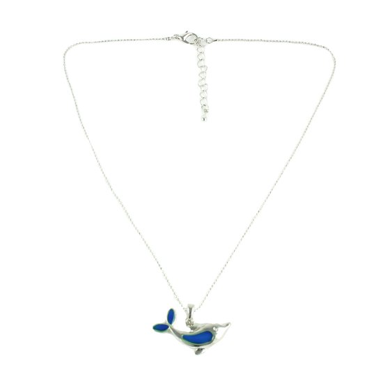 Mood dolphin pendant necklace with adjustable chain walmart your own energy will cause the mood pendant to change color and reveal your inner emotions it makes a fun gift packaging includes a black satin pouch aloadofball Gallery