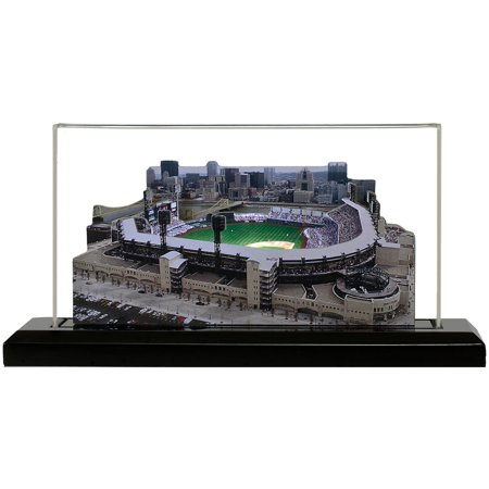 "Pittsburgh Pirates 9"" x 4"" PNC Park Light Up Replica Ballpark - No Size"
