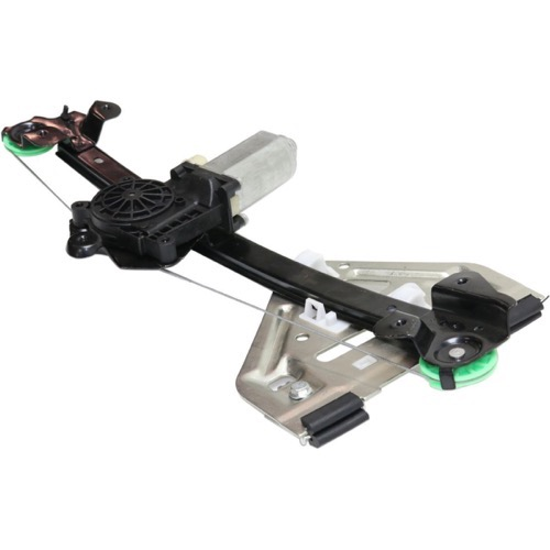 Power Window Regulator with Motor Assembly Rear Left Driver Side Replacement for 2003 2005 2006 Cadillac