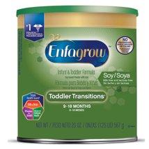 Baby Formula: Enfagrow Toddler Transitions Soy