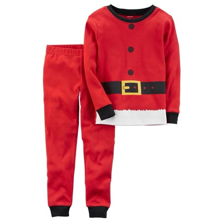 56b82ccc4879 Carter s Little Boys  2-Piece Christmas Snug Fit Cotton PJs