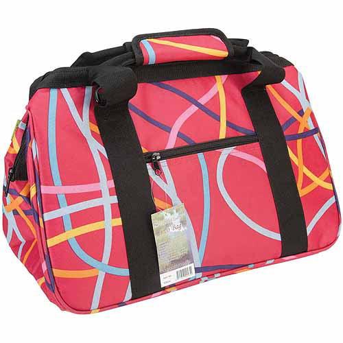"Janet Basket Ribbons Eco Bag, 18"" x 10"" x 12"""