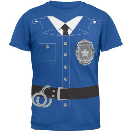 Policeman Costume Youth T-Shirt (Costumes T Shirts)