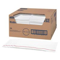 "WYPALL 06053 Spunlace Pro Disposable Foodservice Wipers 12-1/2"" x 23-1/2"", White"