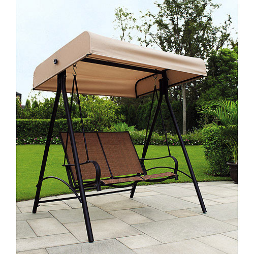 Garden Winds Replacement Canopy Top for Sand Dune 2 Person Swing