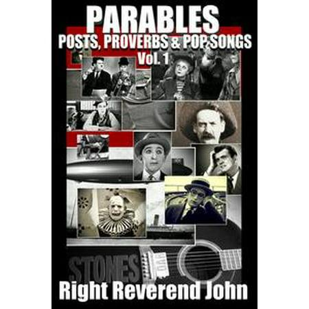 PARABLES / Posts, Proverbs & Pop Songs (Volume One) - eBook - Great Halloween Pop Songs