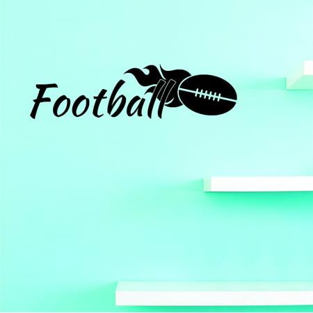 New Wall Ideas Football Team Sports Quote Boy Teen Men 8x20 Inches (Football Ideas)