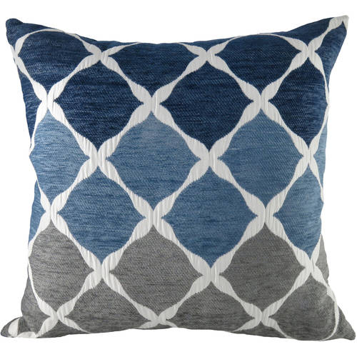 better homes and gardens lattice chenille textured ombre toss pillow