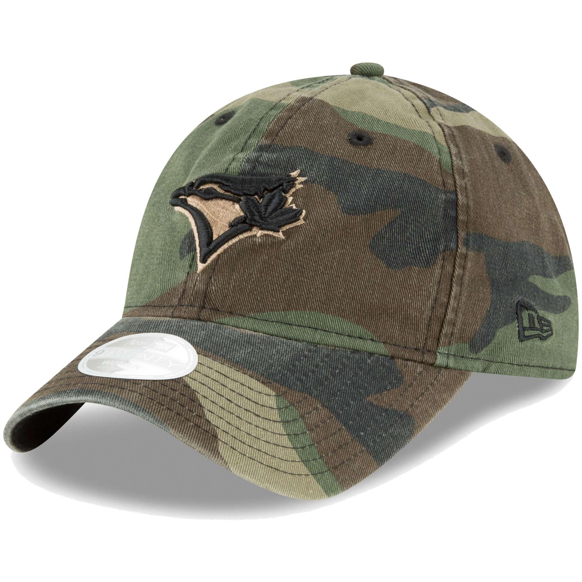 Toronto Blue Jays New Era Women's Core Classic Twill 9TWENTY Adjustable Hat - Camo - OSFA