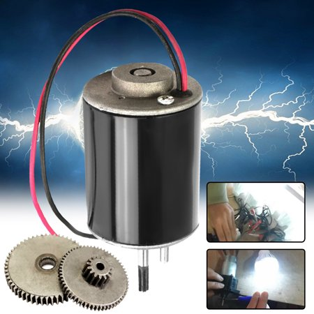 36W 12V-24V DC Mini Small Wind Turbine Generators Permanent Magnet Motor With 2pcs
