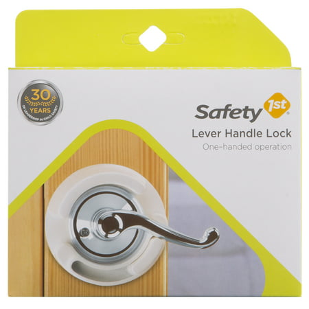 Safety 1st Safe (Safety 1st Lever Handle Lock, Child-Resistant, White )