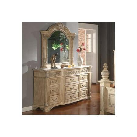 Meridian Furniture Usa Sienna 12 Drawer Dresser With Mirror