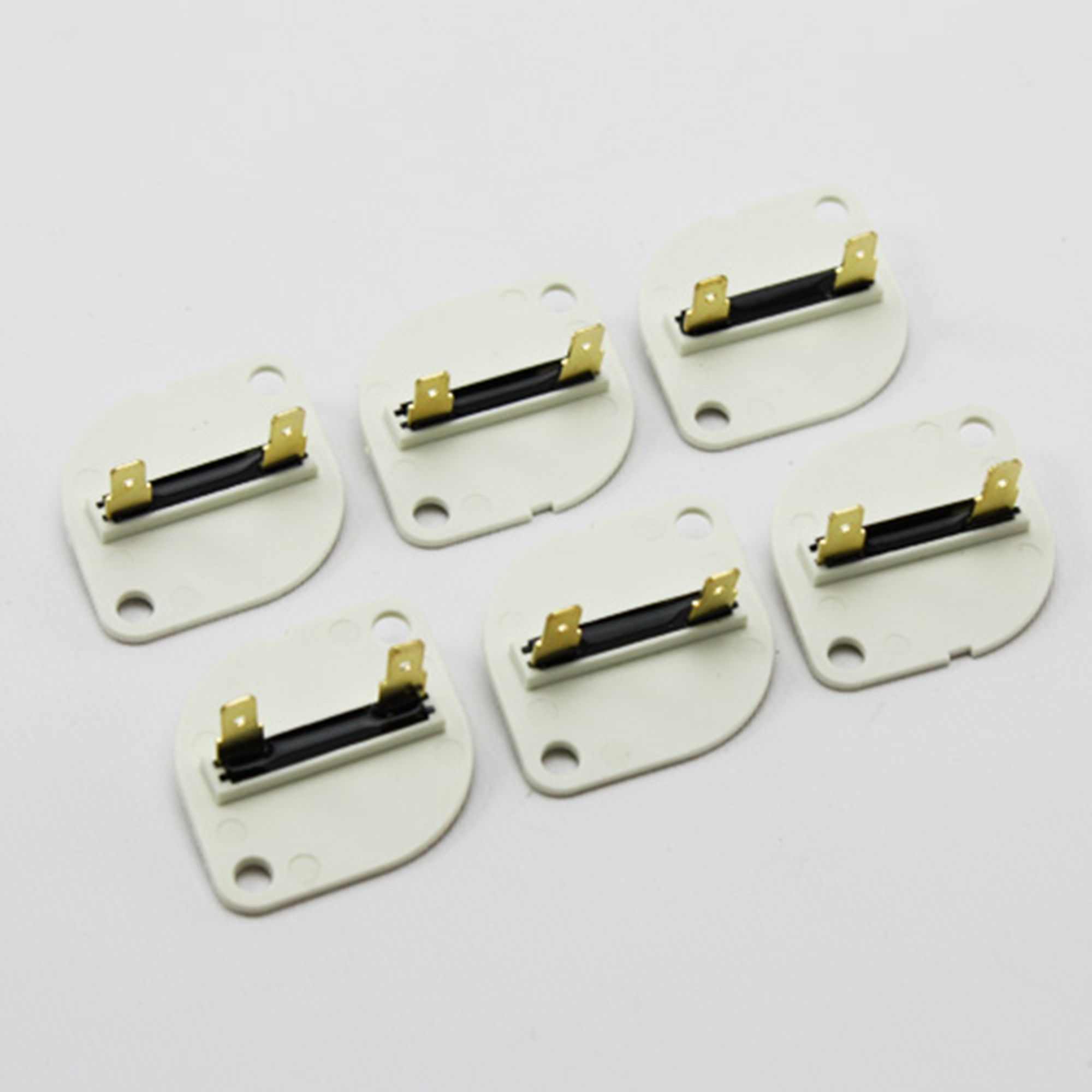 6 Pack Of Replacement Fuses For 3390719 279650 Whirlpool Kenmore 660877 Dryers
