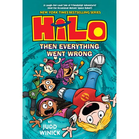 Hilo Book 5: Then Everything Went Wrong (Hardcover) - Everything Wrong With Halloween Town