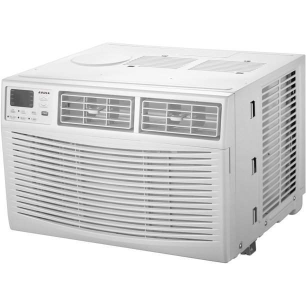 Amana AMAP061BW 6,000 BTU 115V Window-Mounted Air Conditioner with Remote Control