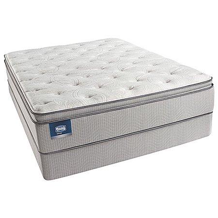 simmons beautysleep chickering plush pillow top full size mattress set. Black Bedroom Furniture Sets. Home Design Ideas