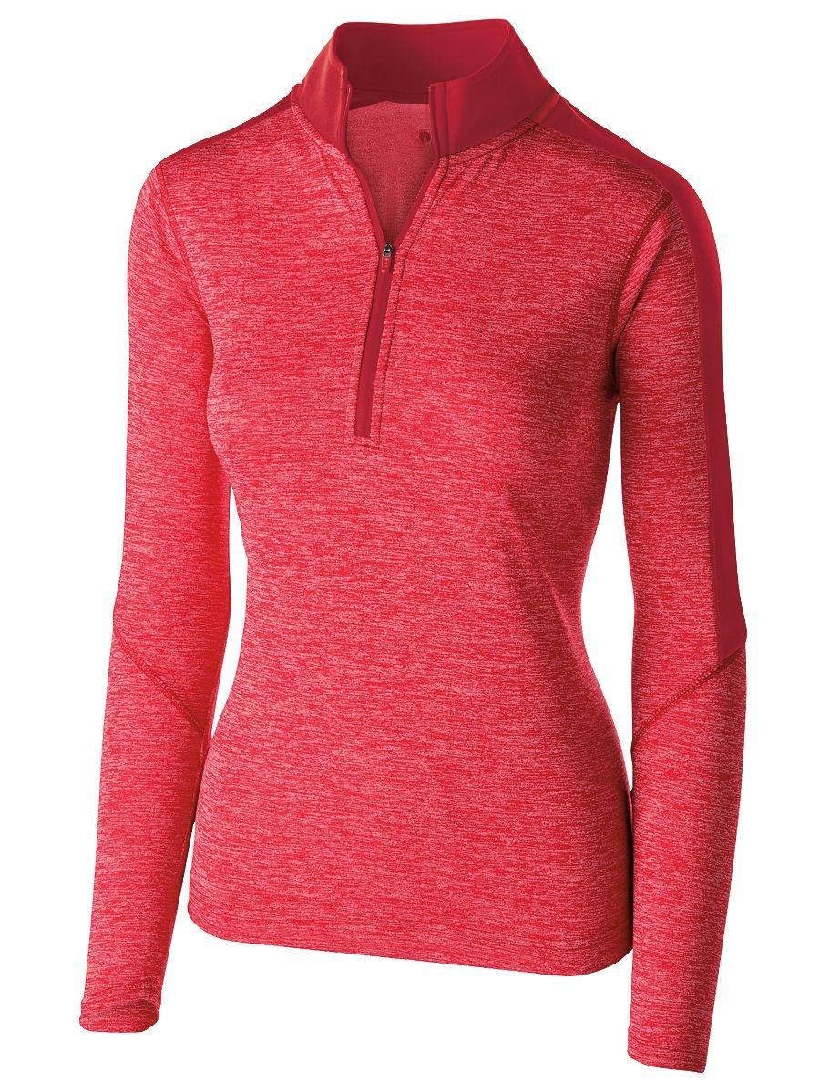 Holloway Sportswear Women's Electrify 1 2 Zip Pullover 222742 by Holloway