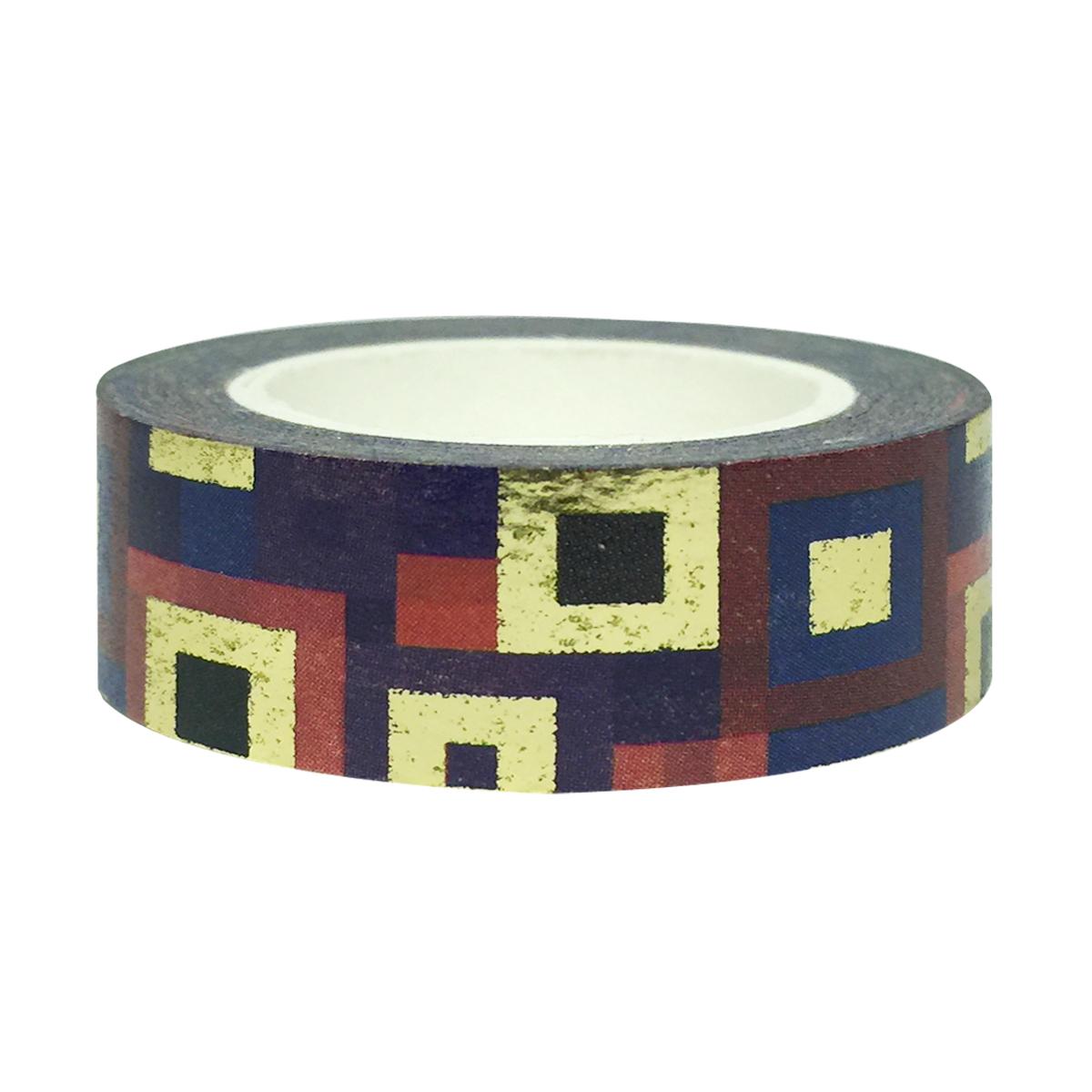 Wrapables® Colorful Washi Masking Tape, Mystery Magic Squares