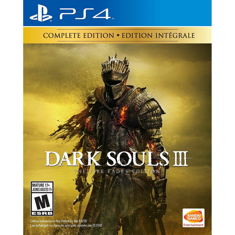Dark Souls 3 Fire Fades Ed Bandai Namco PlayStation 4